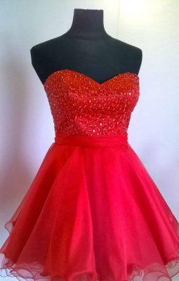 Elegir el Vestido de Quince-Color Rojo