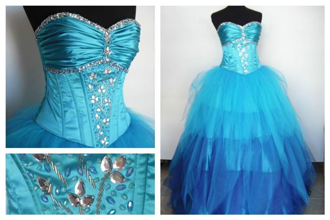 62a90686f Vestidos de 15 años largos estilo princesa.¿Lista para ser la ...
